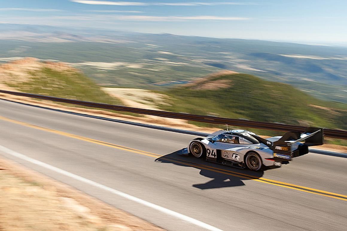 Volkswagen built the I.D R Pikes Peak all-electric racer specifically to conquer the race off the same name