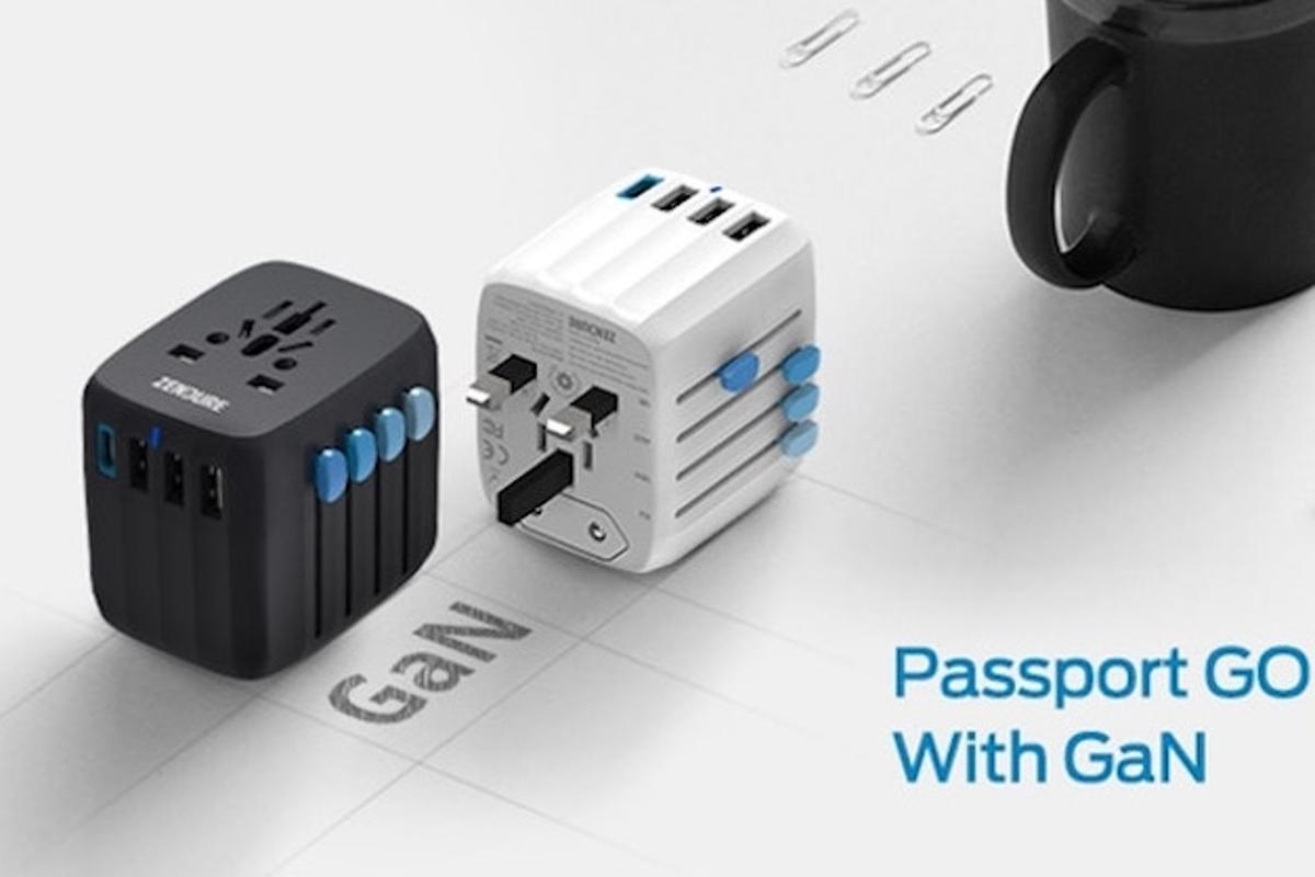 Passport GO is the ultimate travel accessory for charging all of your gadgets and devices