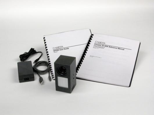 Early prototypes of a Canesta 3D camera (Photo: Canesta Inc)