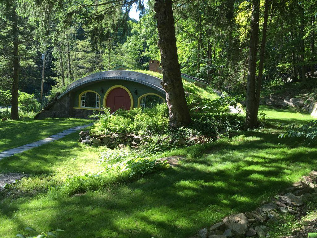 We've seen a lot of self-built hobbit homes over the years, but this one, named the Hobbit Hollow, is definitely one of the better examples