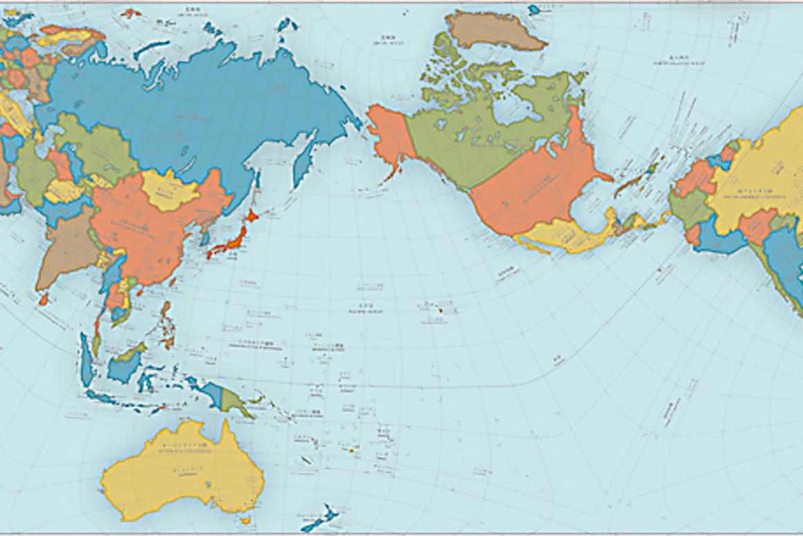 Size does matter: Authagraph World Map turns the Earth into ...