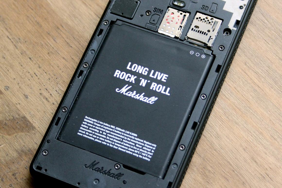Review: Marshall London smartphone