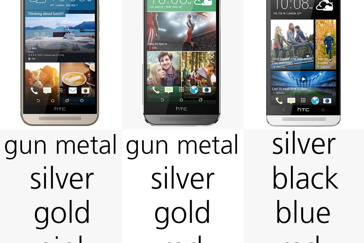 HTC One M9 vs  One (M8) and One (M7)
