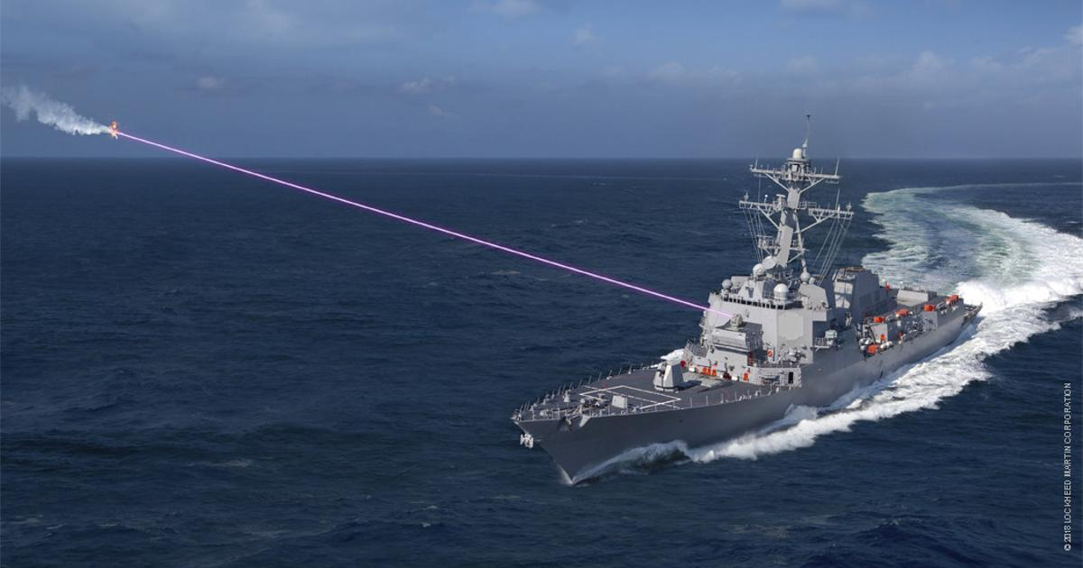 US Navy deploys first anti-drone laser dazzler weapon