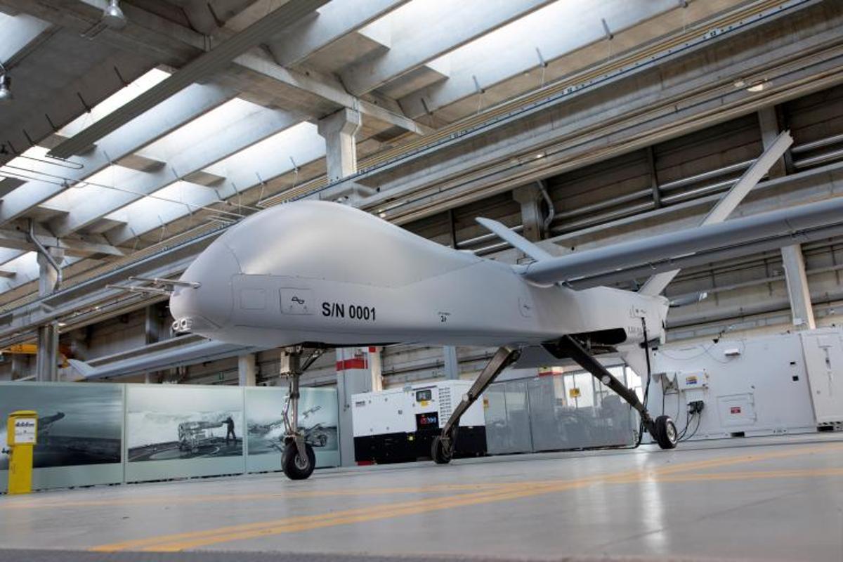 The Falco Xplorer is the largest drone built by Leonardo