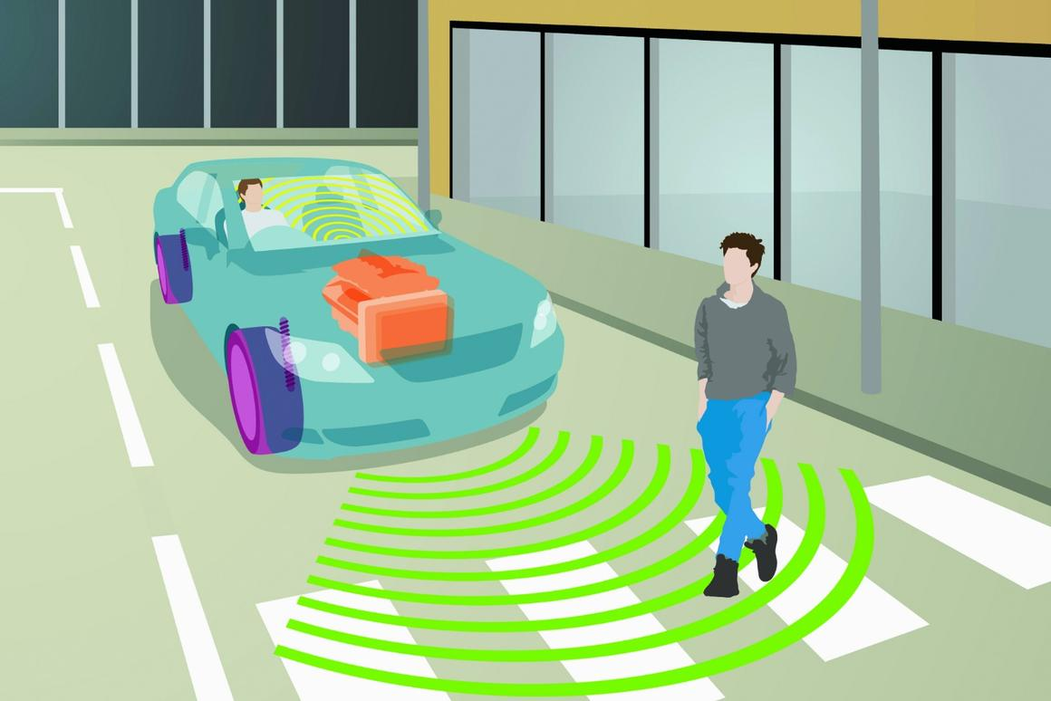 Companies like Harman are designing external warning audio systems for EVs, making a range of driving sounds that rise and fall in pitch with the vehicle's speed to give pedestrians an audible signal that there's a car coming