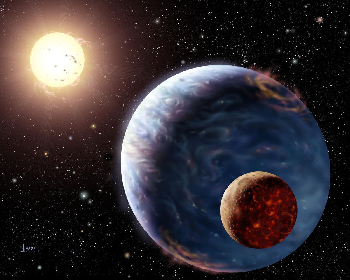 Radyo Dalgaları Üreten Bir Öte Gezegen Keşfedildi…