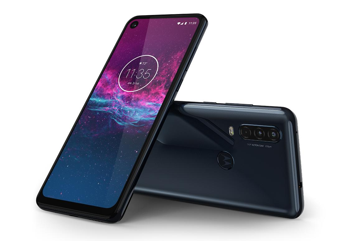 The Motorola One Action is a mid-range phone with a difference