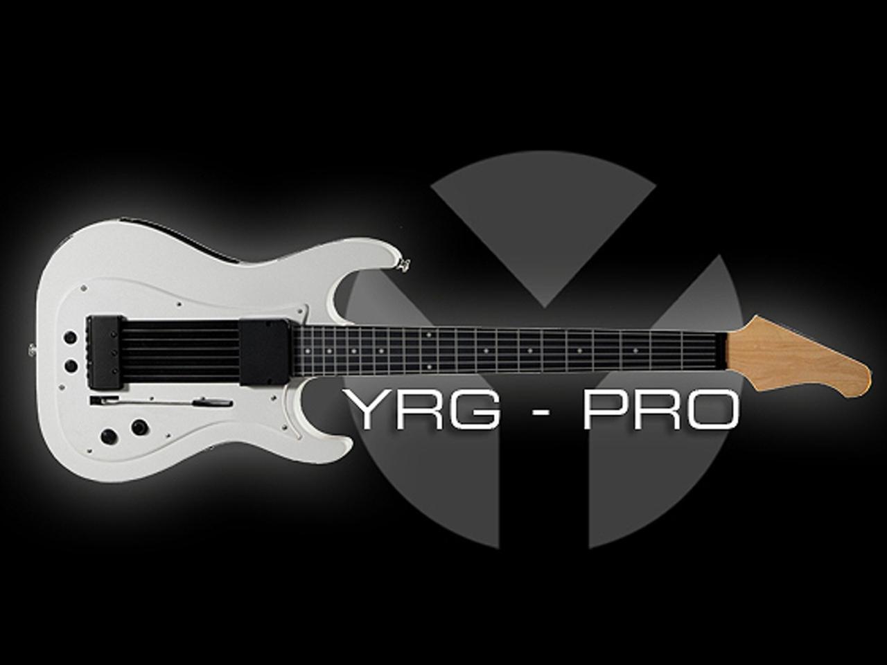 The original Kickstarter campaign image for the YRG-Pro MIDI Guitar. This idea later evolved into the Lineage MIDI Guitar