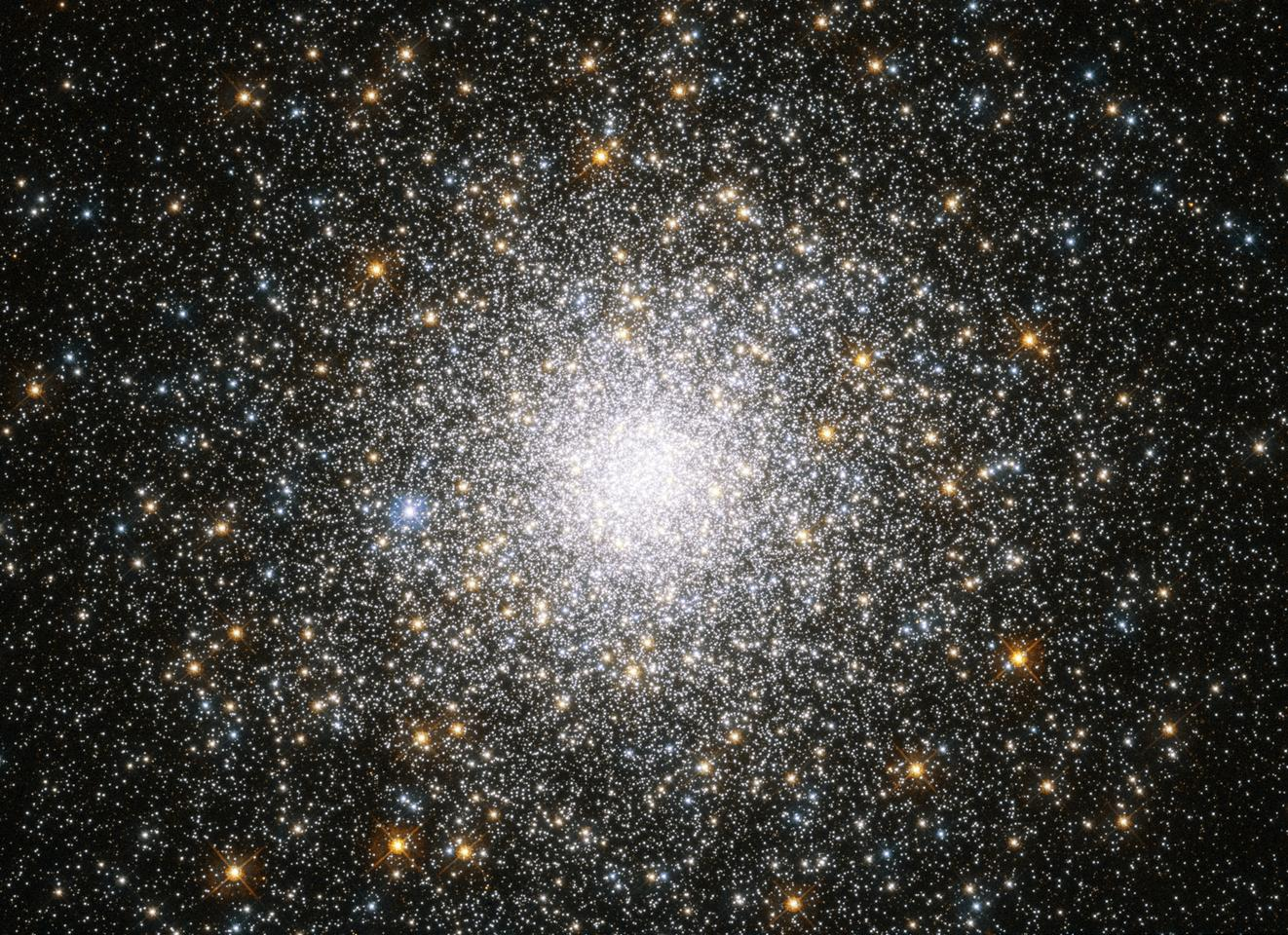 The globular cluster Messier 75 is one of the most photogenic regions in space, as made clear in this recent Hubble photo.