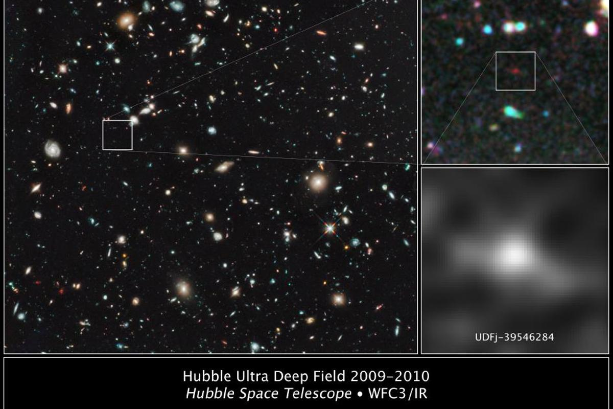 Astronomers have pushed the Hubble Space Telescope to the very limit of its technical ability and believe that they have discovered the oldest and furthest ancient galaxy ever seen