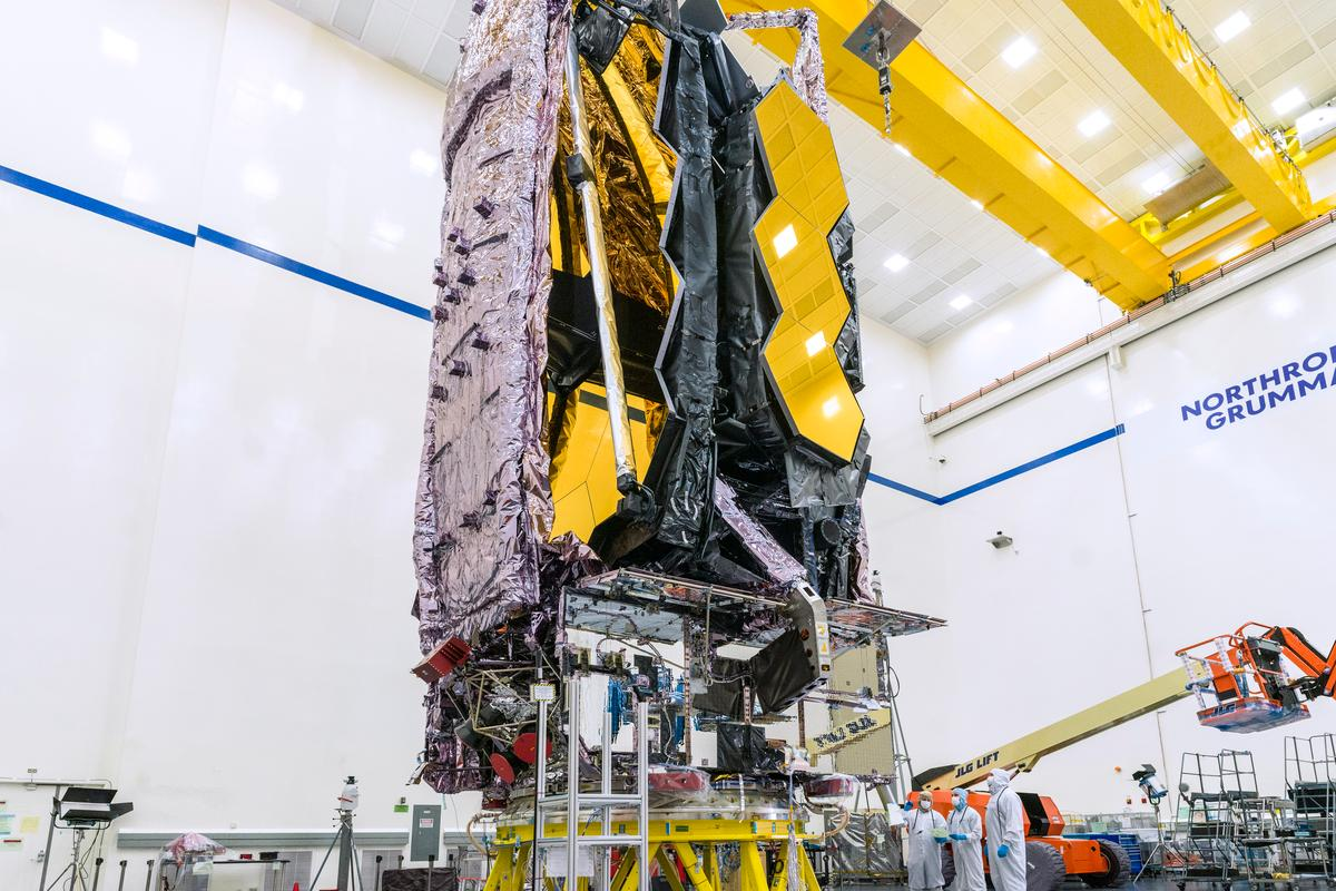 The James Webb Space Telescope has finally finished its testing regime and is getting ready for launch
