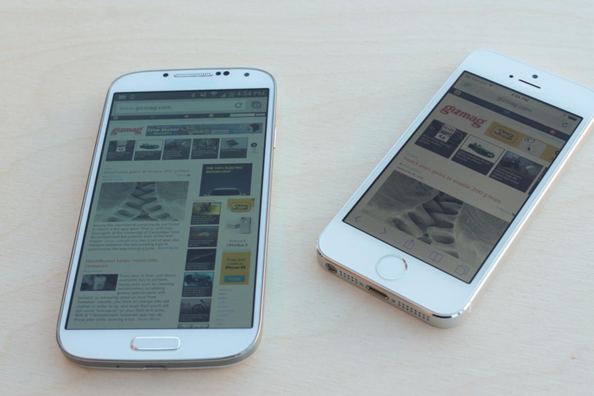 Gizmag goes hands on, to revisit the latest iPhone and Galaxy flagships