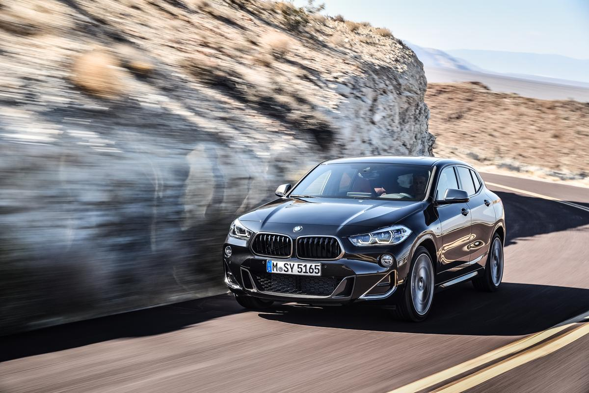 BMW has given its sporty X2 an M division makeover