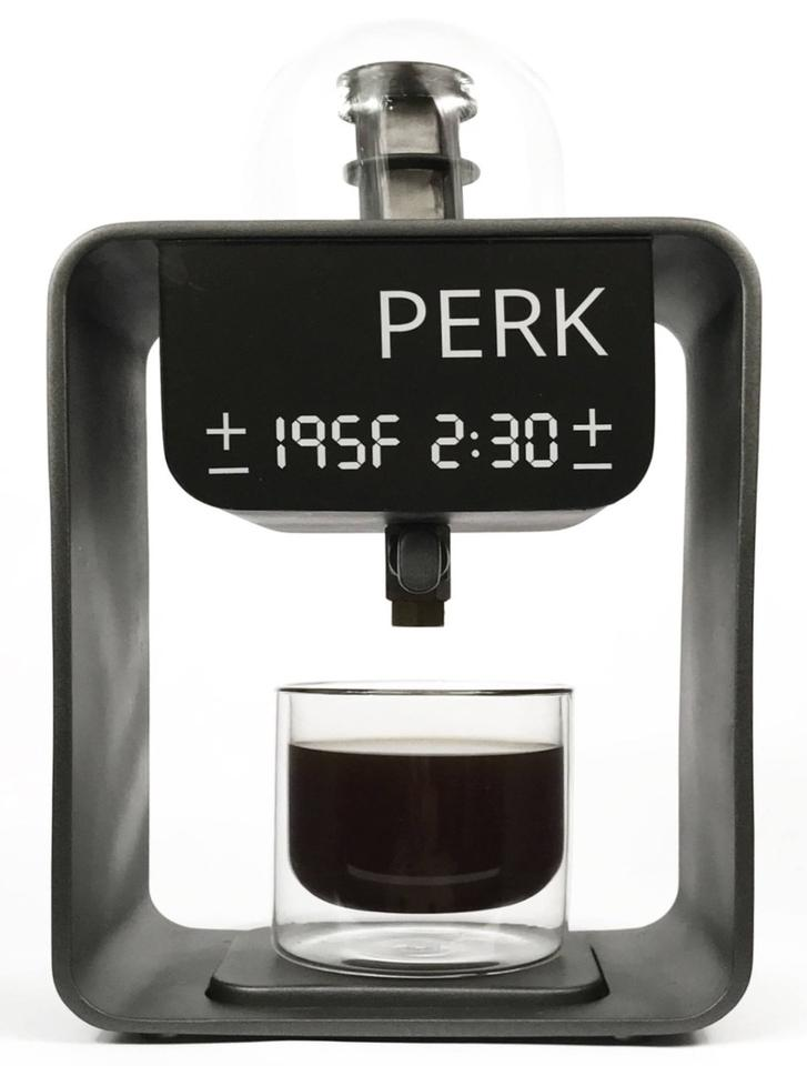 The Perk Brew is designed to deliver quality coffee in the home