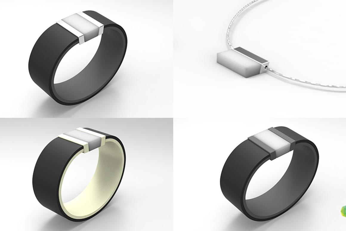 Bond Touch is a modular wearable system that lets you wear just the features you want, in the style you want