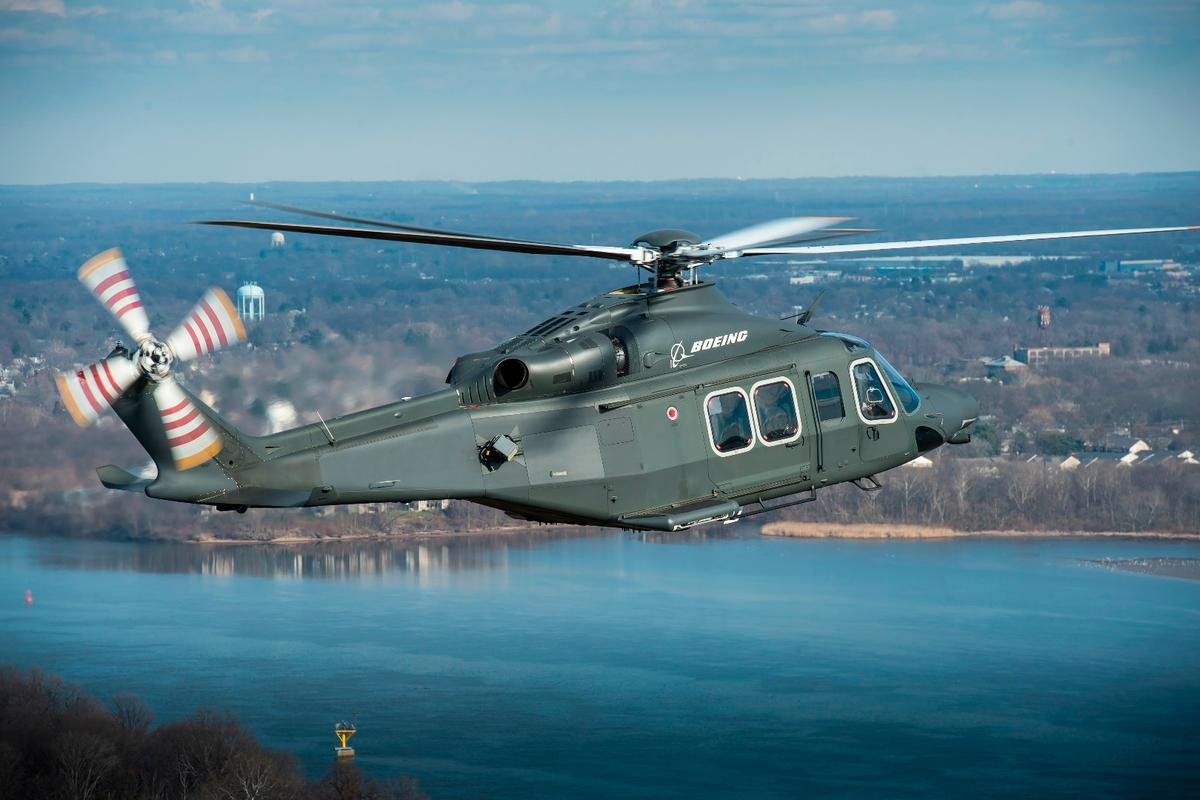 """The MH-139 is intended to replace the US Air Force'sUH-1N """"Huey"""" fleet"""