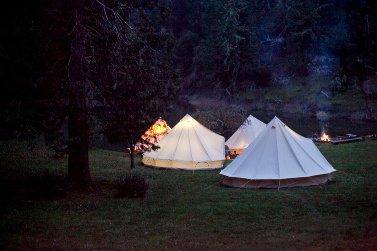 Shelter Co. combines glamping comforts with a nostalgic camping experience (Photo: Mel Barlow)