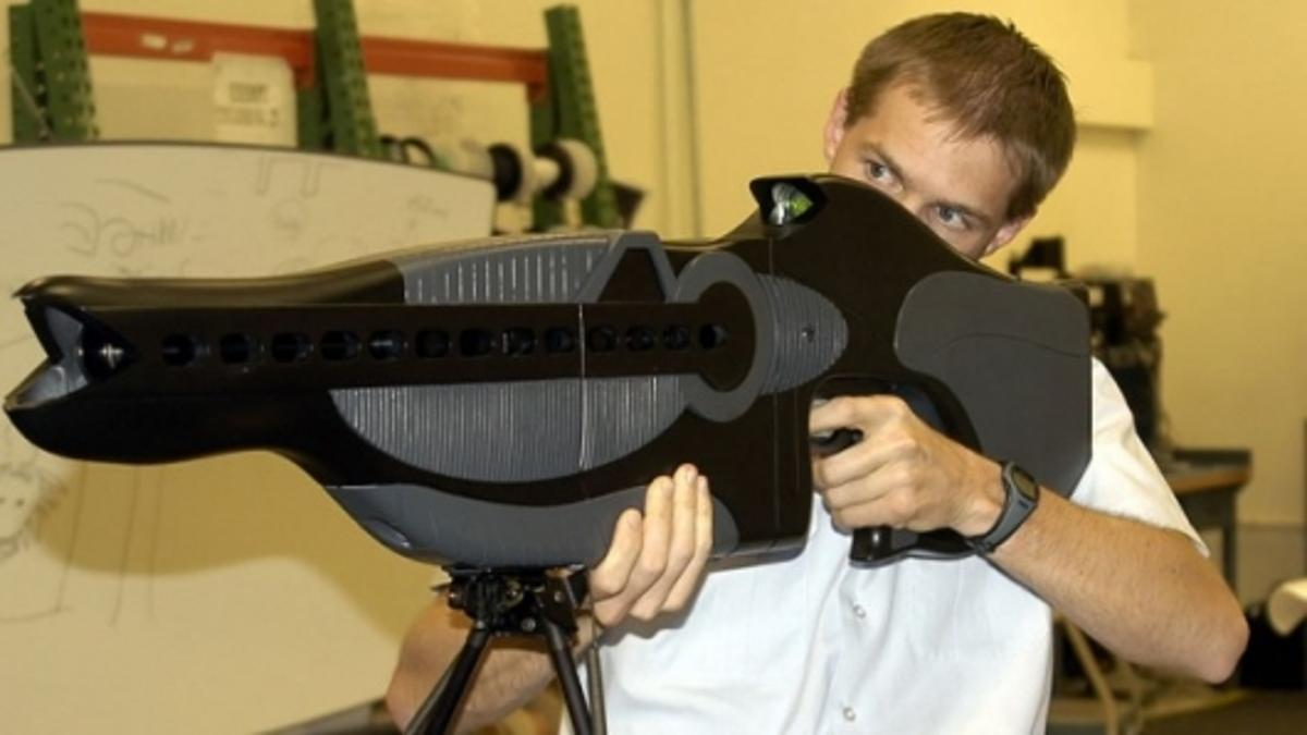 The Personnel Halting and Stimulation Response rifle or PHaSR is the predecessor to the Thermal Laser System