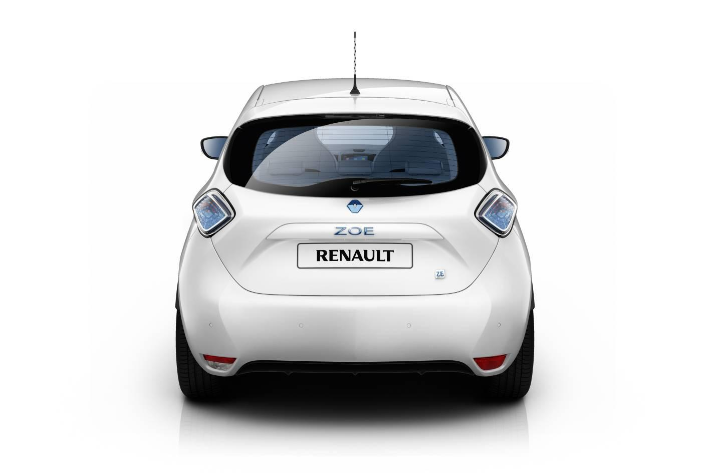 Renault's new ZOE electric supermini premieres at the 2012 Geneva Motor Show