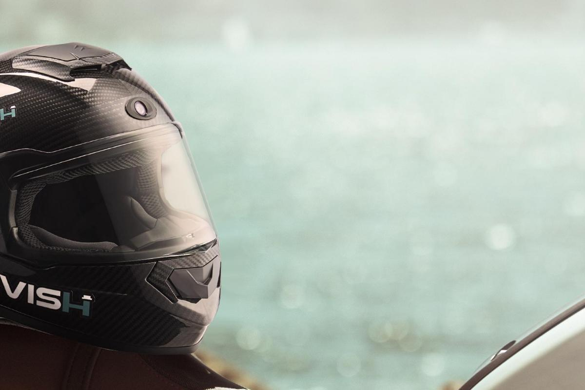 The Jarvish smart helmet, coming in 2019, now features augmented reality elements and Alexa integration