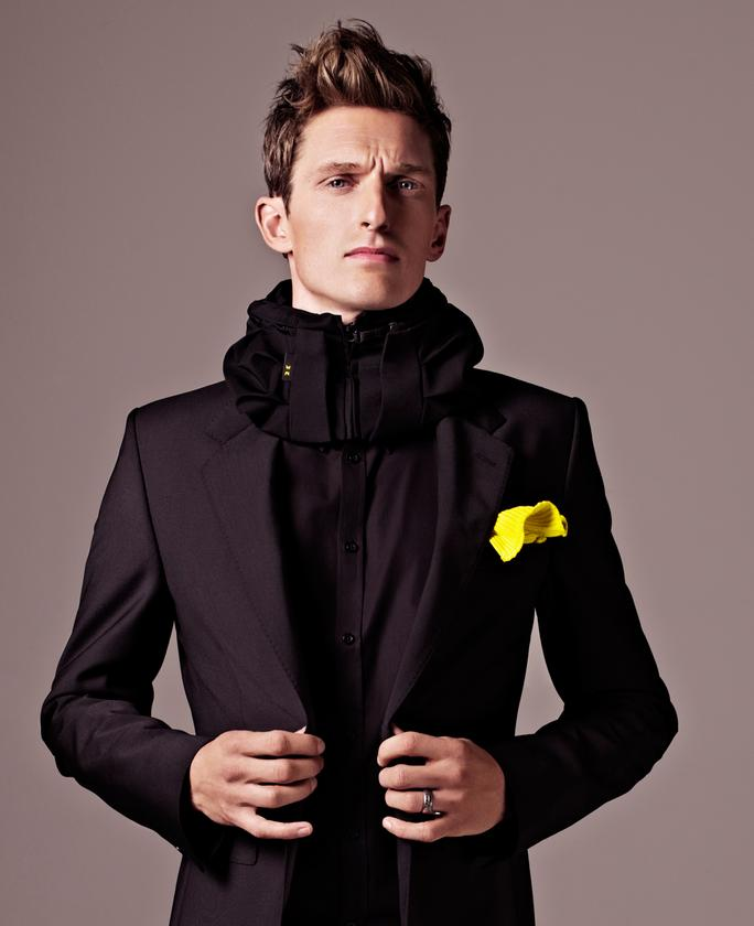 The Hovding airbag collar