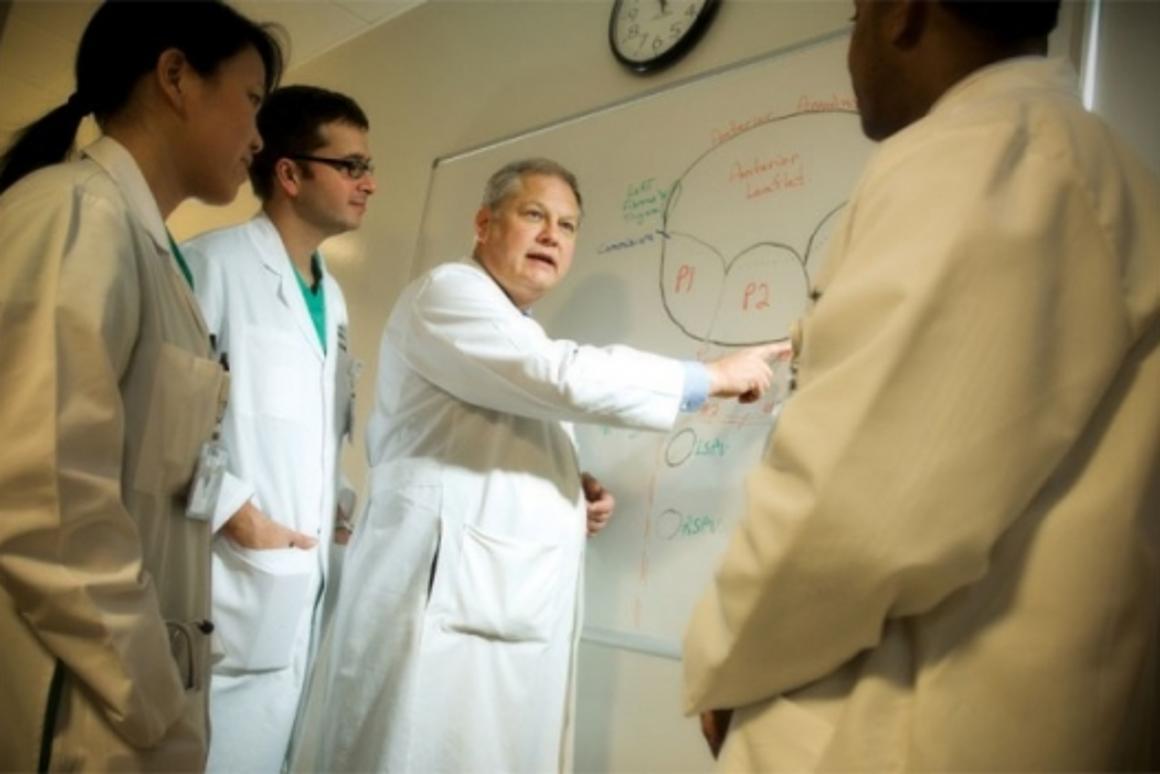 Robotic surgery milestone: Dr. W. Randolph Chitwood, Jr.