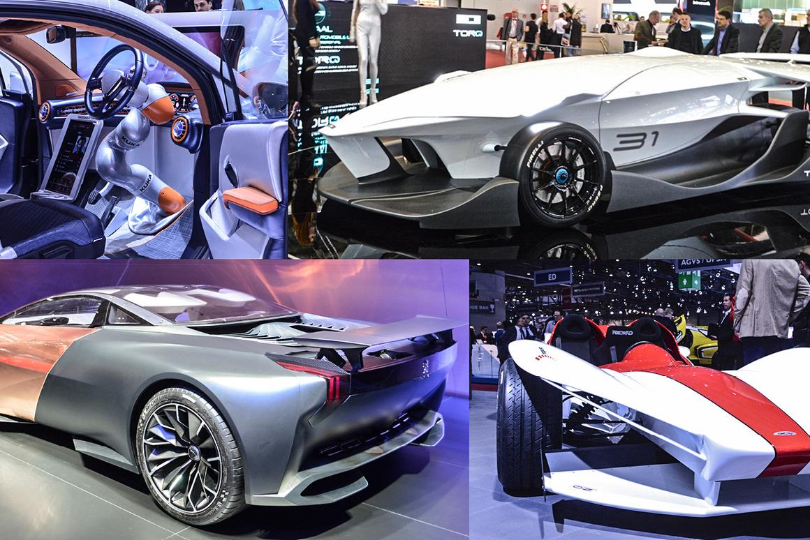 Car Show 2015 >> In Pictures Concept Cars Of The 2015 Geneva Motor Show