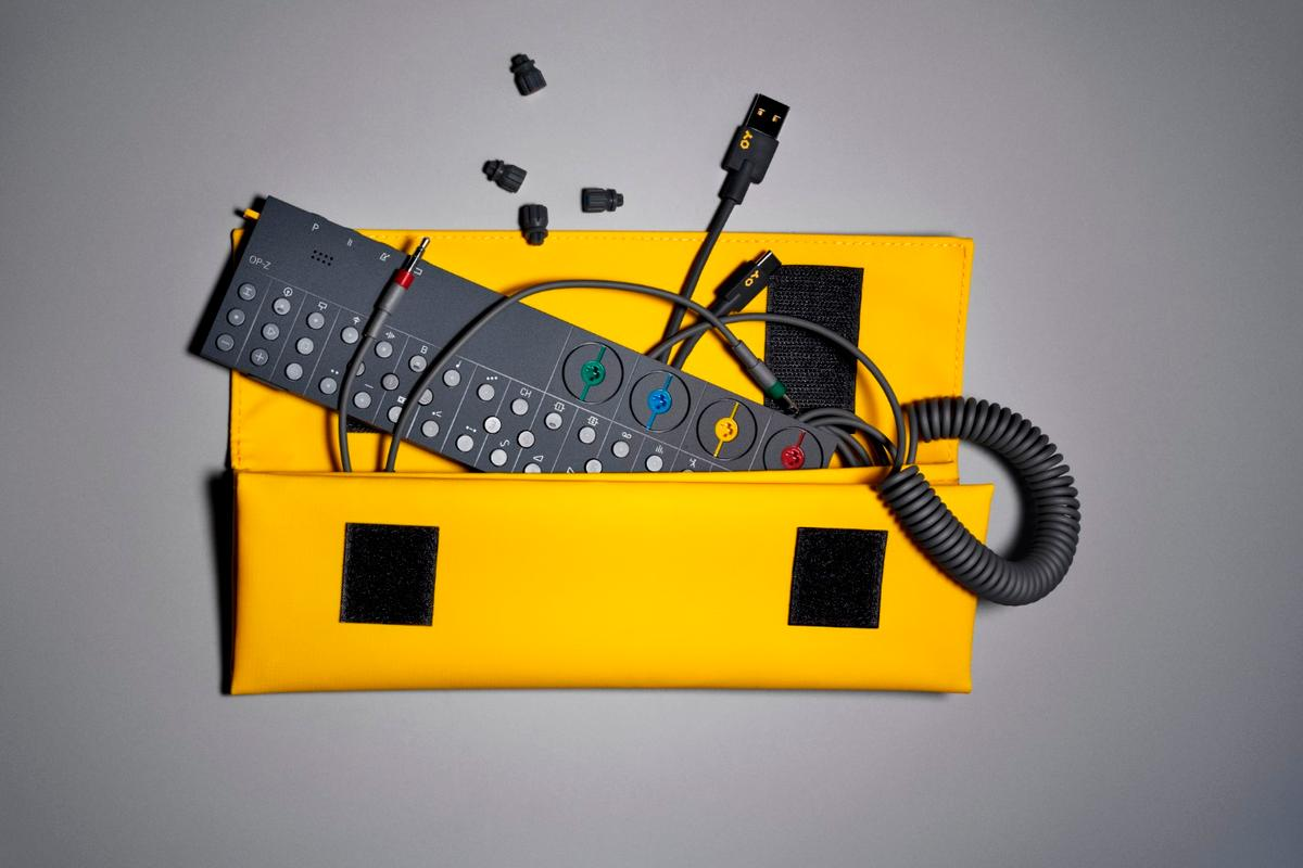 The Teenage Engineering OP-Z can be used to create music, generate visuals and control lighting on the fly