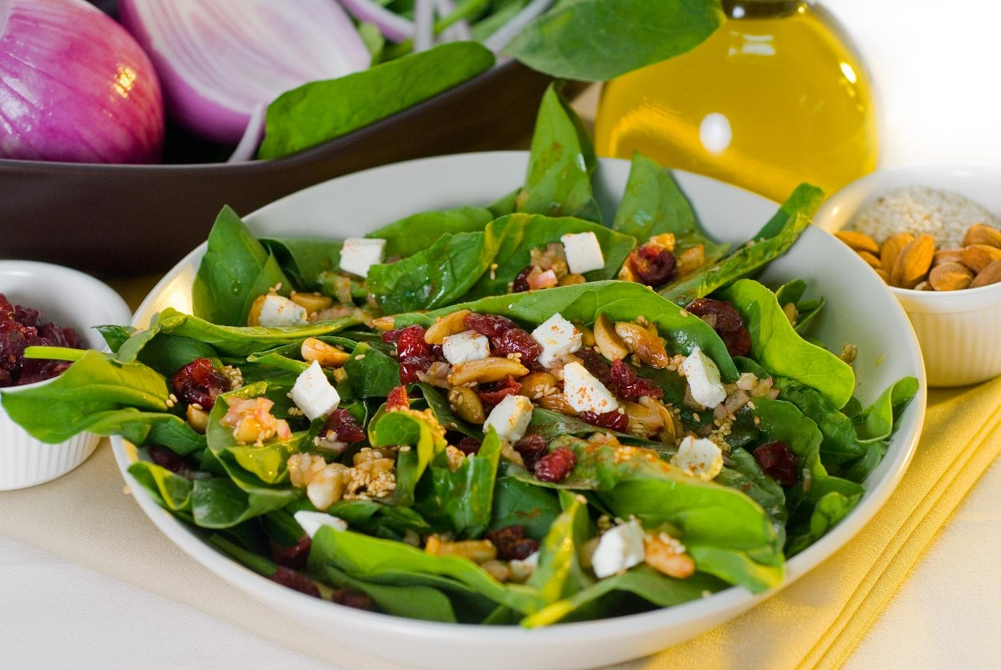 A daily salad might be a good idea for people wishing to stave off dementia