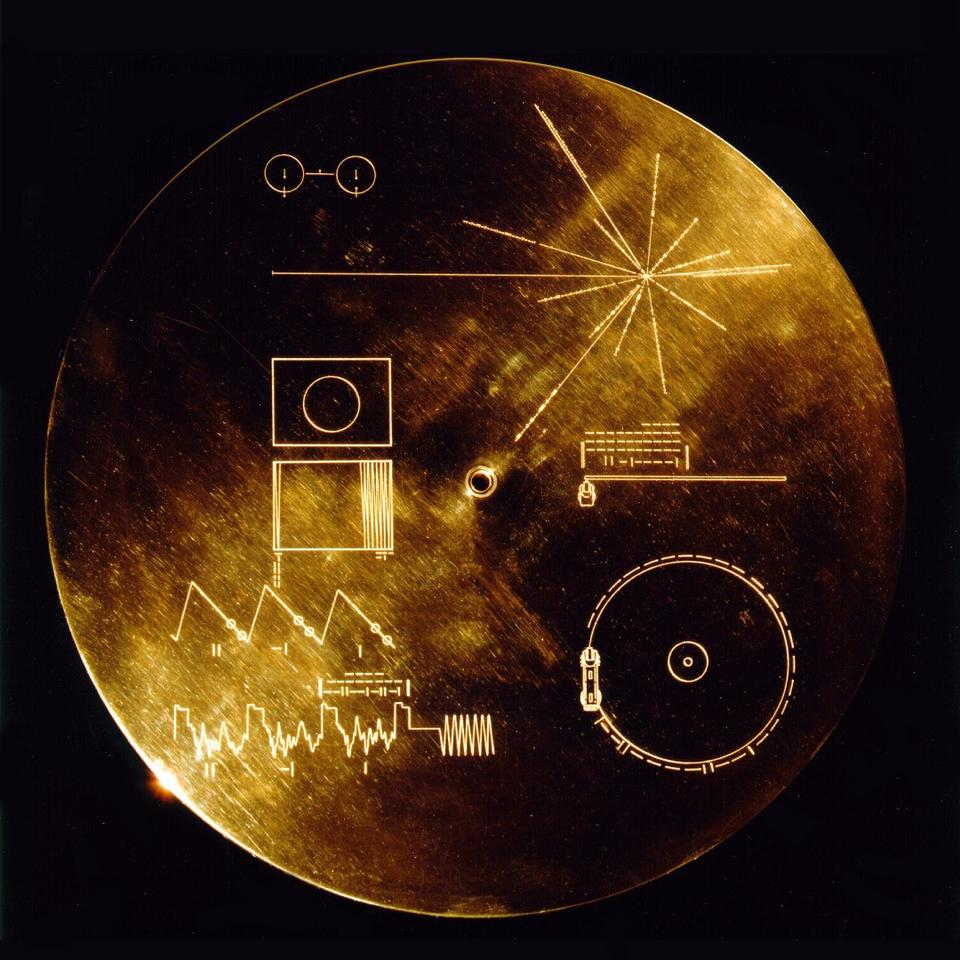 Cover for the Golden Record