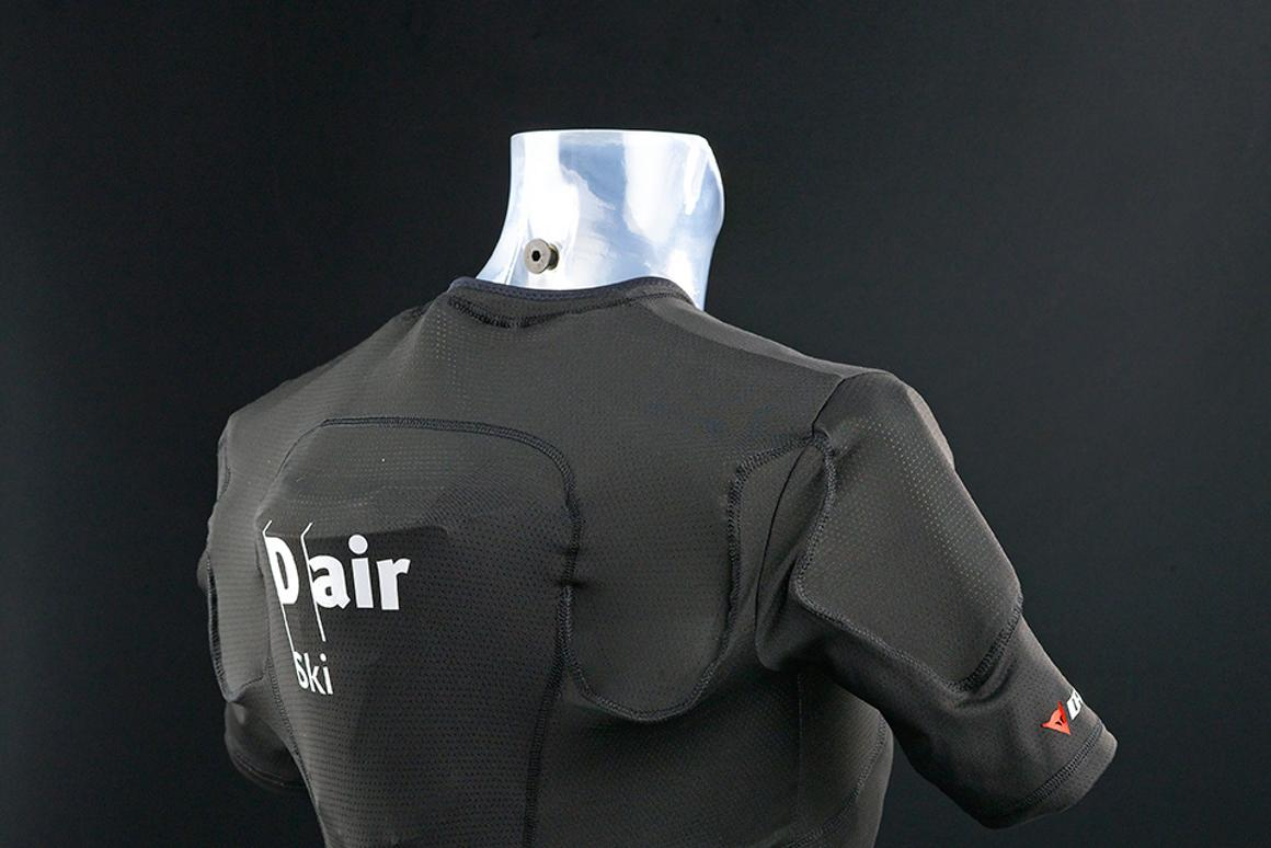 Dainese says the D-air does not affect the skier's aerodynamics