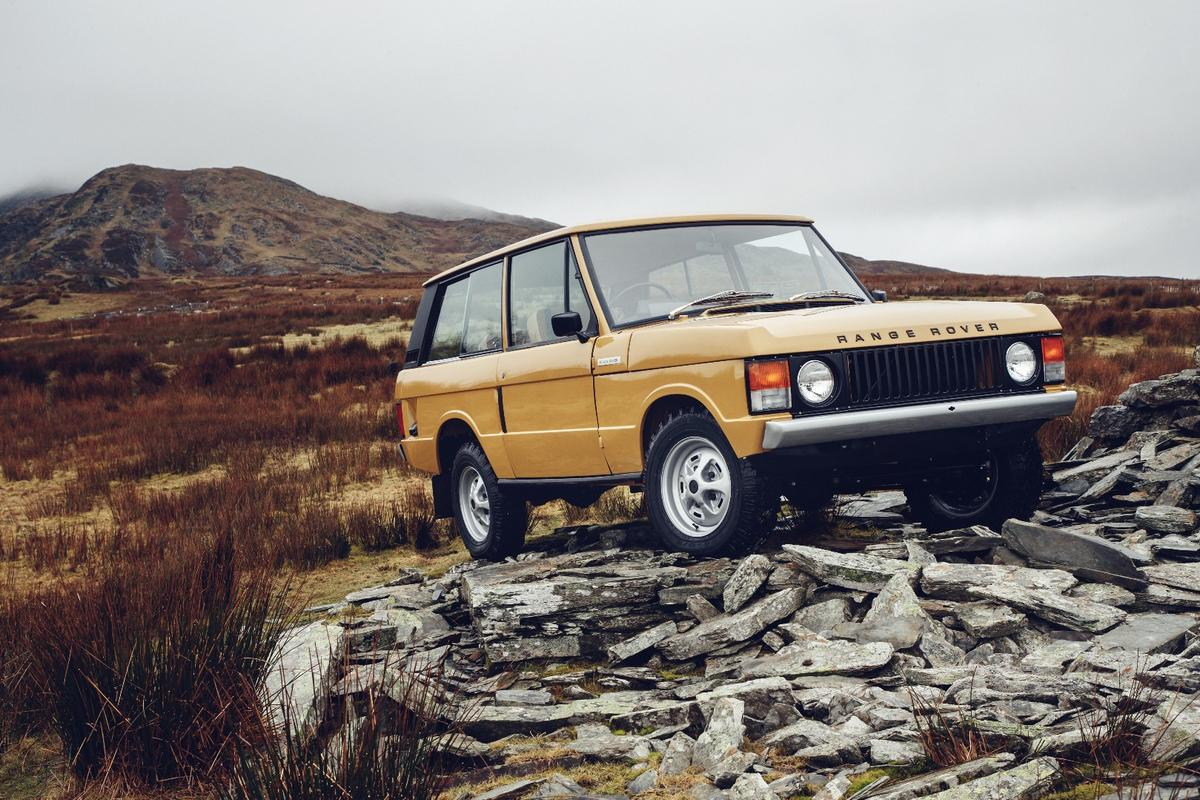 Jaguar Land Rover is all about classic cars