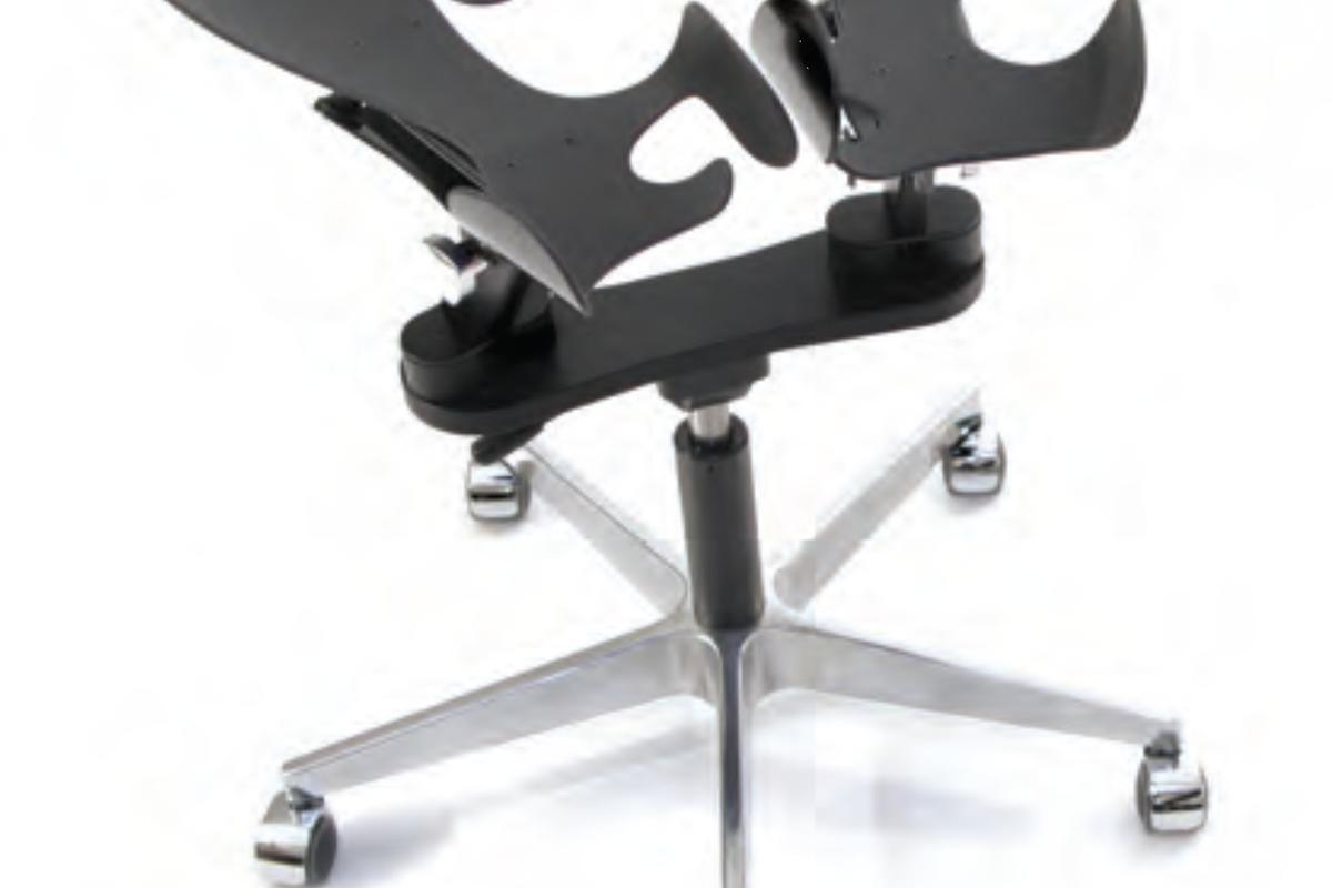 The LimbIC chair is uses two carbon-fiber cradles (Photo: Inno-Motion)
