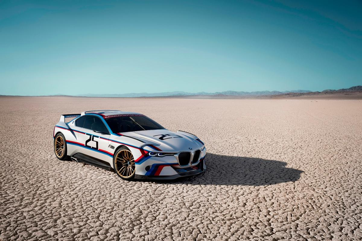 BMW has twice paid homage to its 3.0 CSL this year