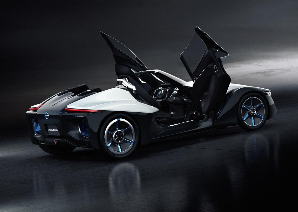 Nissan's Bladeglider Concept will debut at the 2013 Tokyo Motor Show