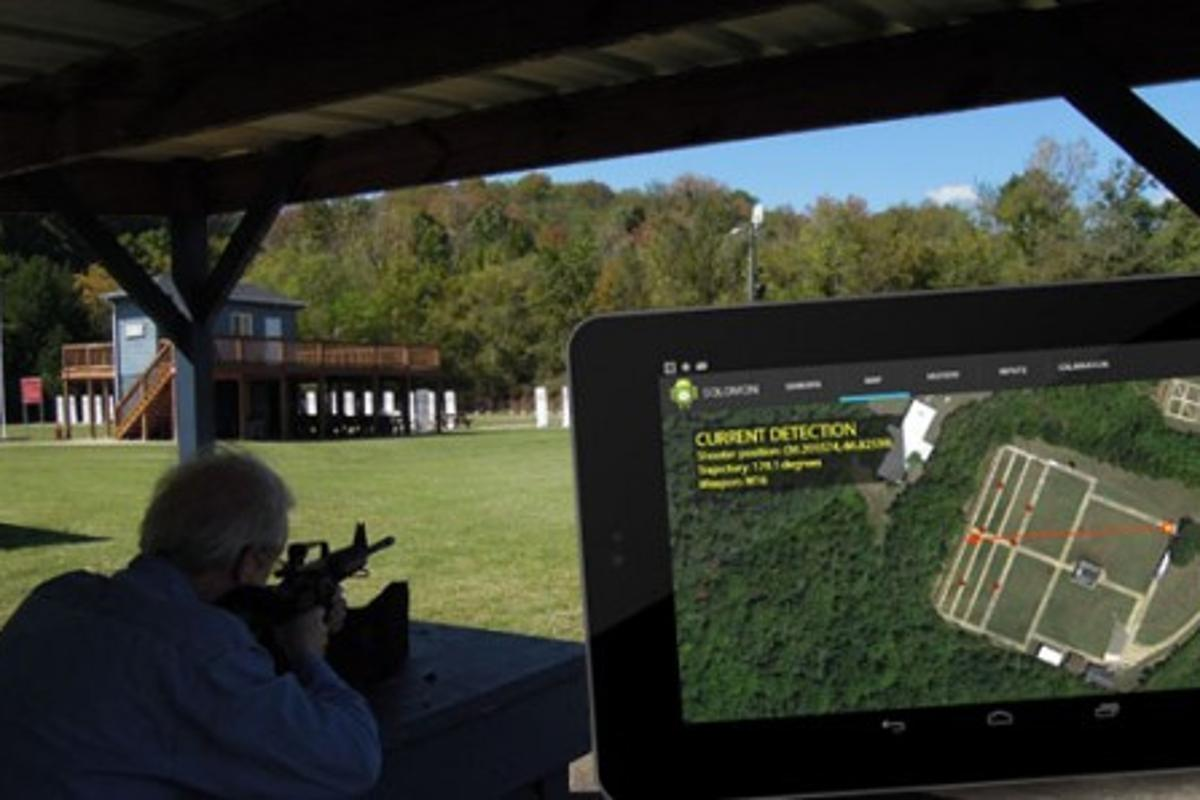 A new smartphone-based system is able to triangulate the approximate whereabouts of snipers