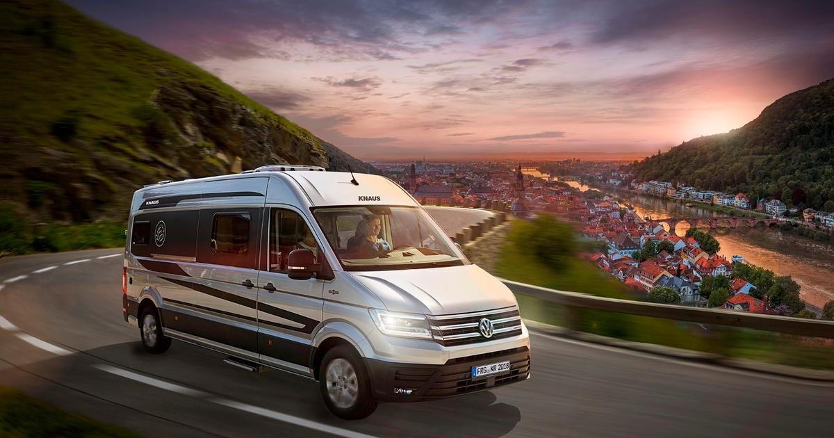 Knaus turns the VW Crafter van into a new type of CUV, a caravanning utility vehicle