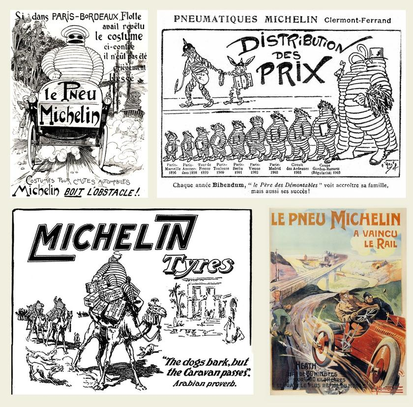 Motoring, marketing, and the story of the Michelin Man