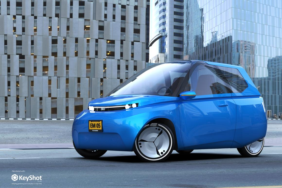 The Noah concept electric city car from TU/ecomotive will be constructed over the coming months, ahead of a meet and greet tour of European cities due to kick off in June or July 2018