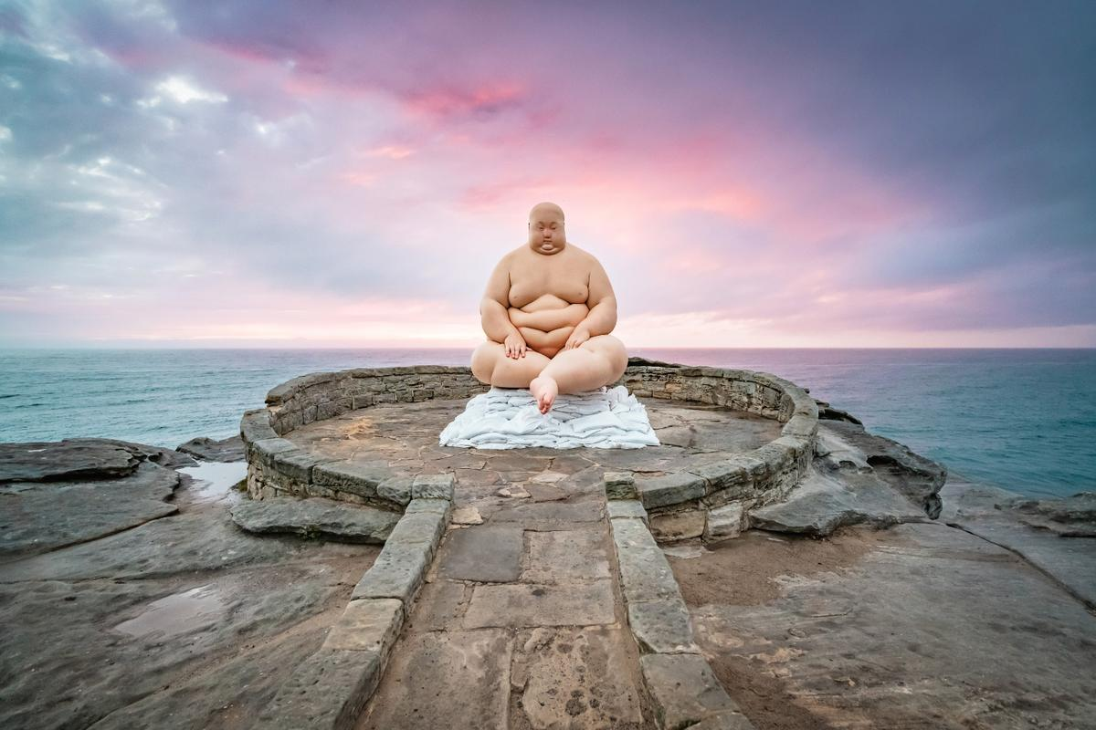 Sculpture by the Sea: Horizon, by Mu Boyan