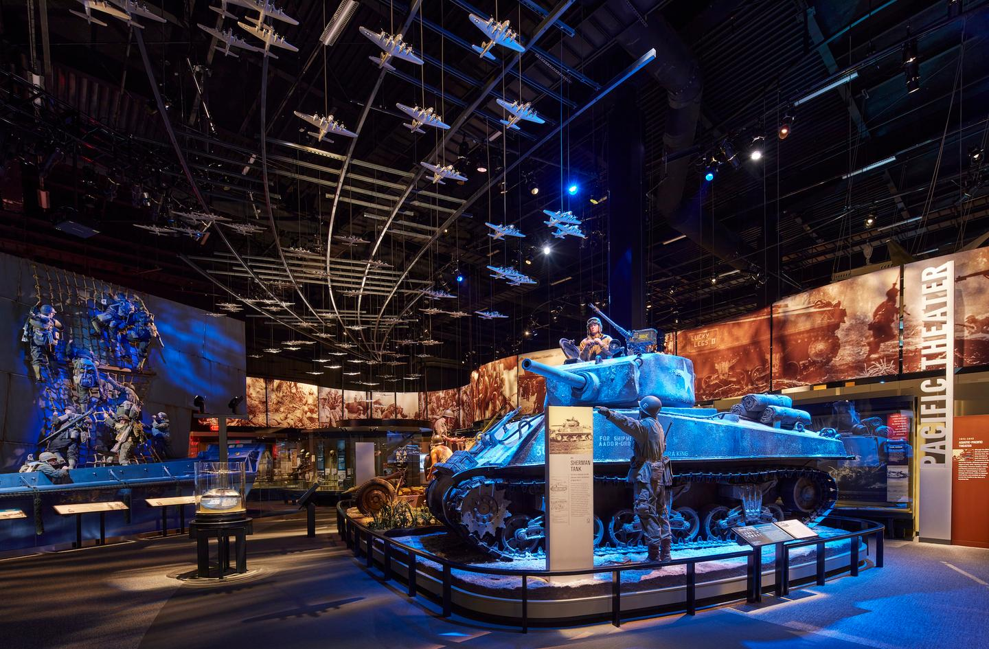 The National Museum of the United States Army includes several exhibits that aim to highlight the stories of individual soldiers