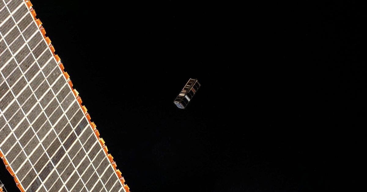 Quantum entanglement demonstrated on tiny CubeSat in orbit