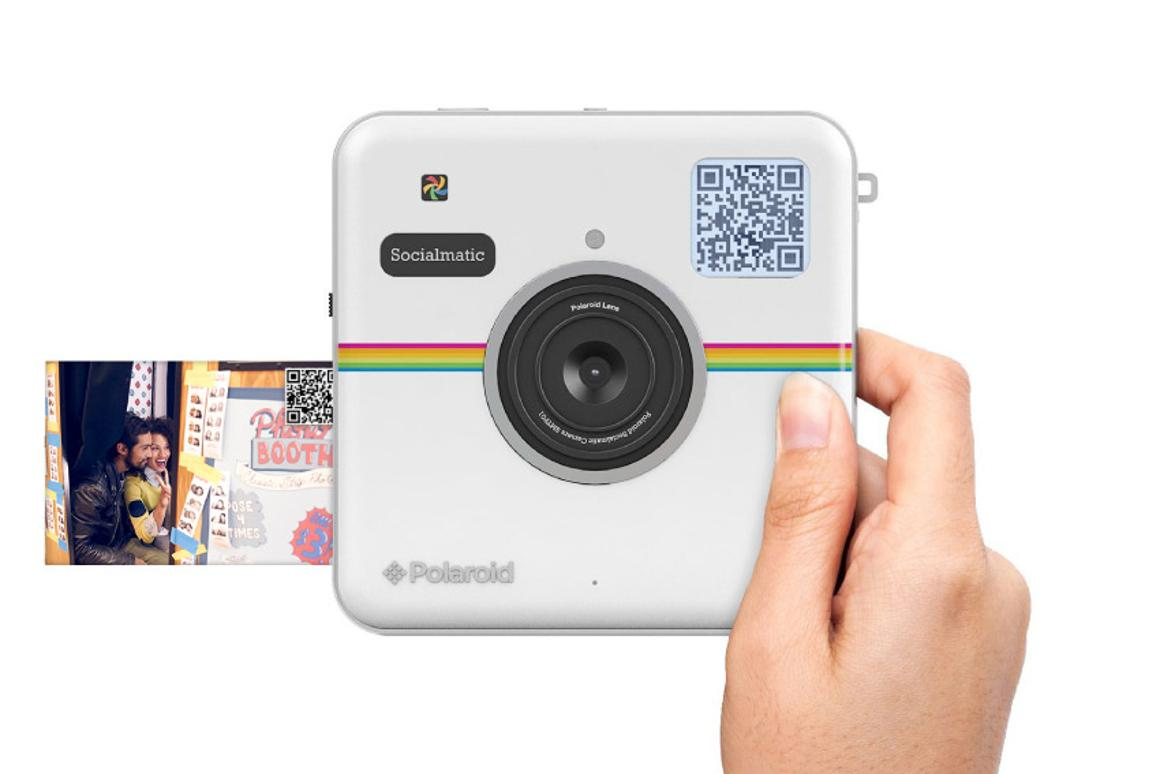 Polaroid's long-awaited Socialmatic camera can now be preordered for US$299
