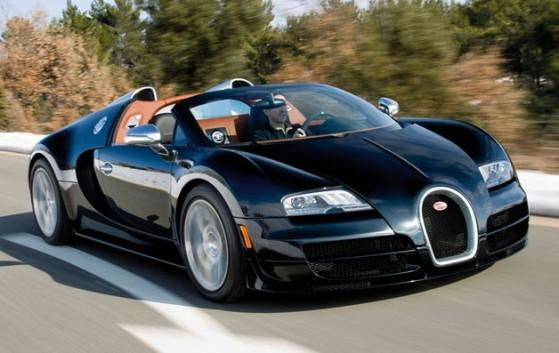 The Bugatti Veyron Grand Sport Vitesse is the world's fastest, most powerful roadster