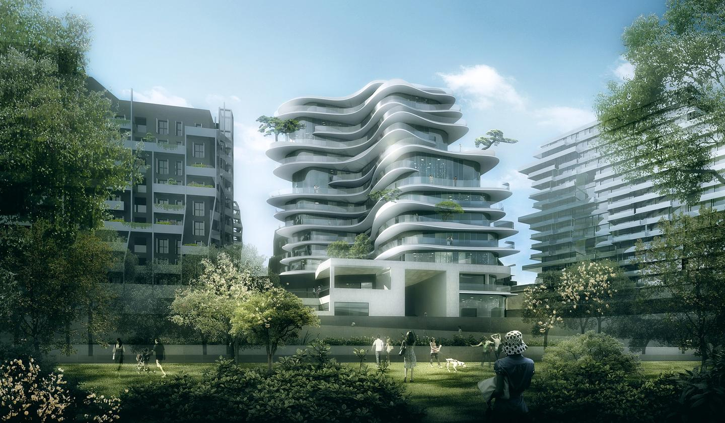 UNIC is MAD's first residential project to be constructed in Europe