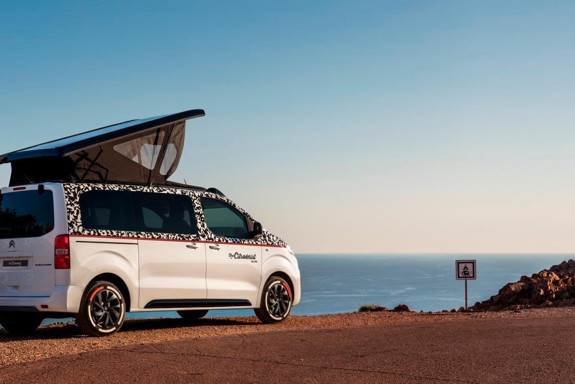 SpaceTourer The Citroënist Concept made its debutat the 2019 Geneva Motor Show