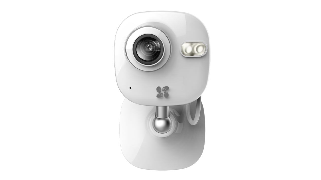 The Ezviz Mini camera links to a smartphone app