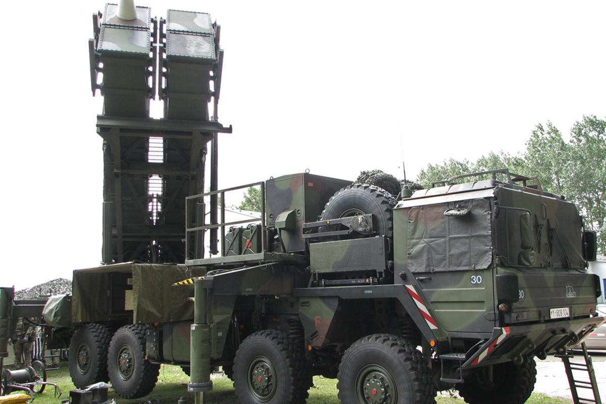 A Patriot Missile system (Image: Darkone via Wikipedia Commons)