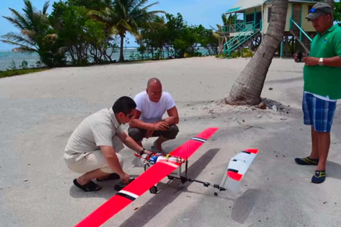 Belize has begun using drones to monitor its coastline for illegal fishing operations